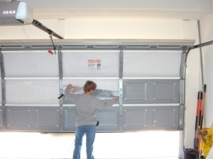 How to replace a garage door panel for Garage door materials