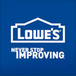 lowes never stop improving logo